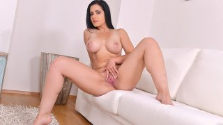 Naked Newbie Shows Big Boobs in Juicy Casting Video - DDF Busty