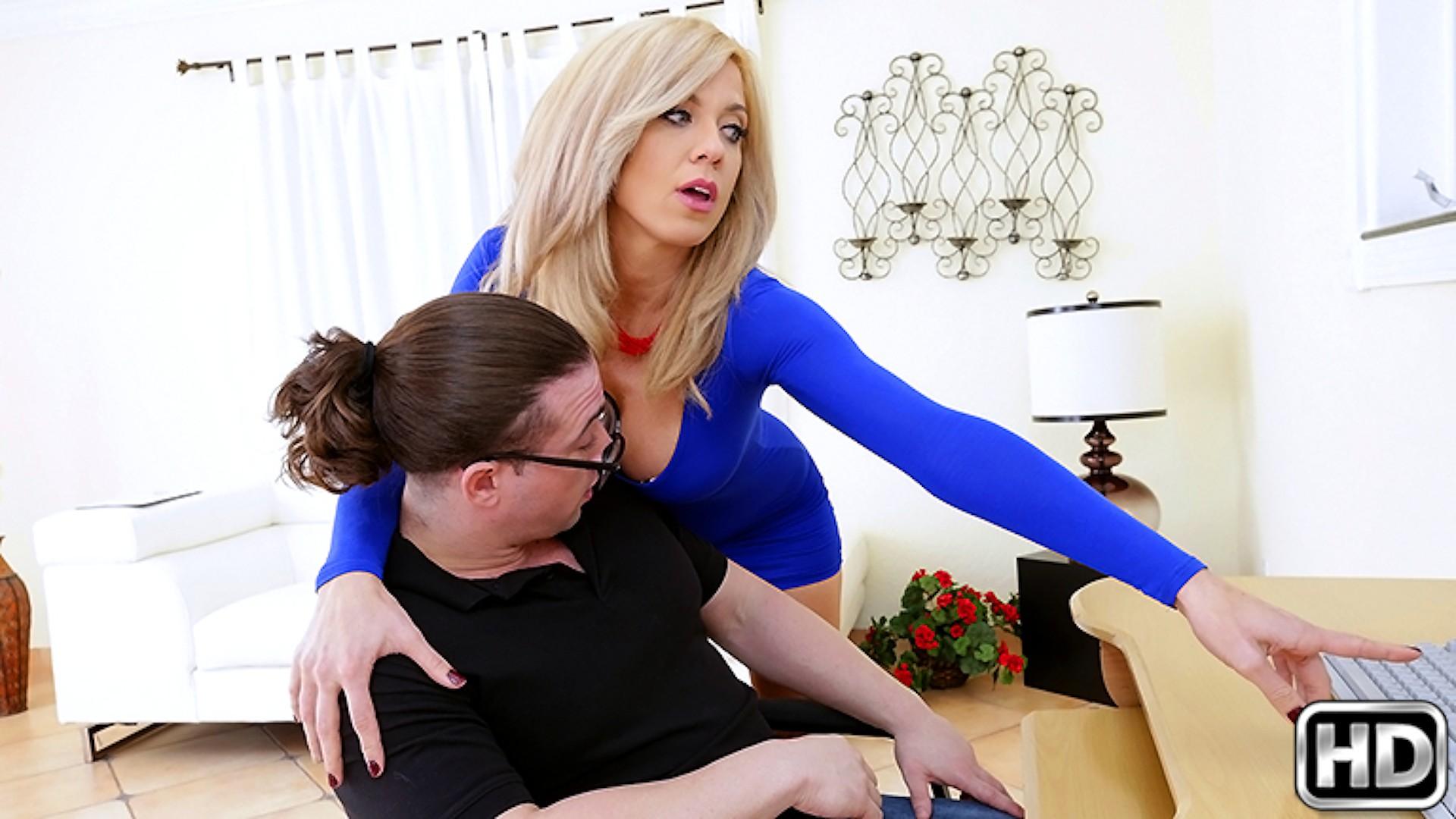 The Blow Job - Big Tits Boss
