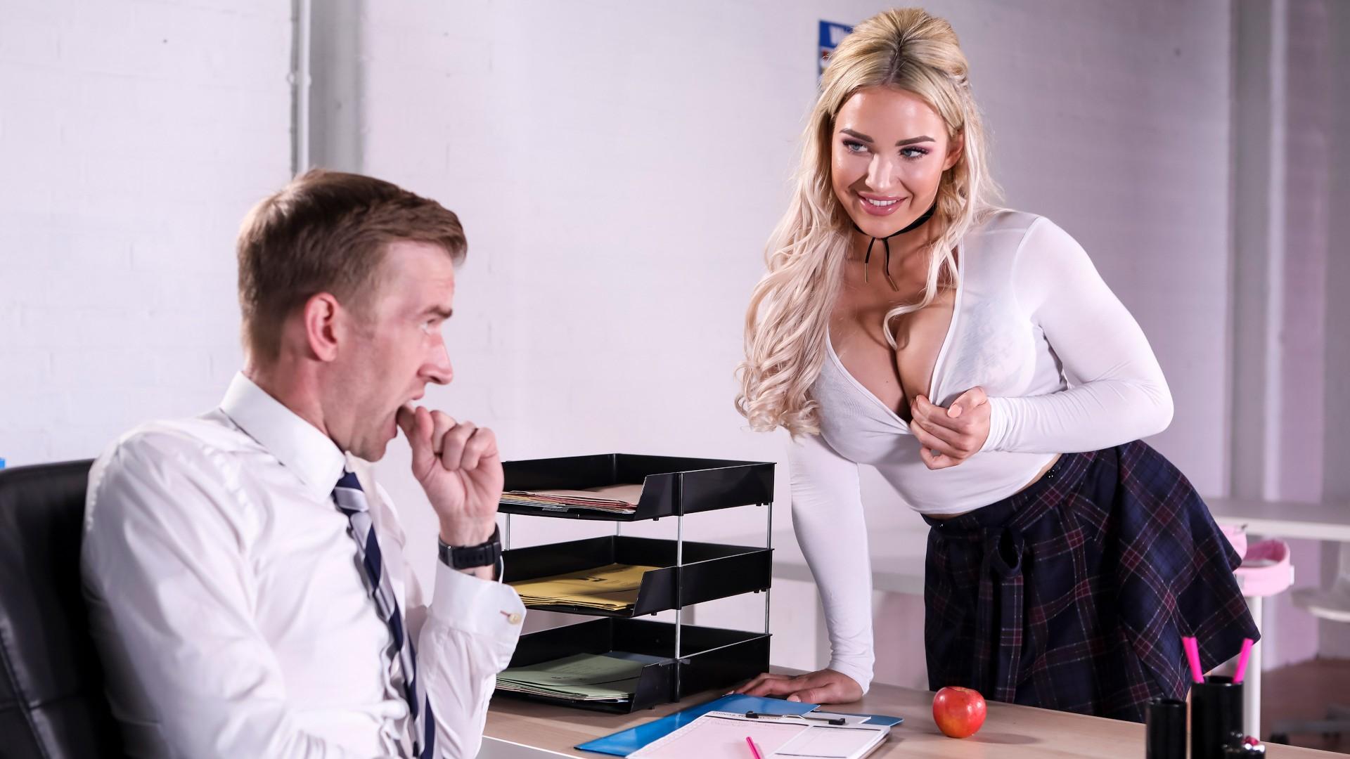 Teacher's Pet - Big Tits At School
