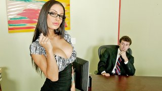 A Real Office Whore - Big Tits At Work