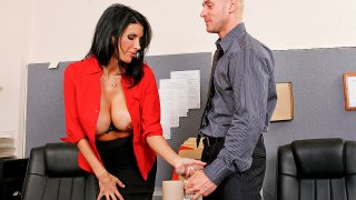 Don't Forget The Cream! - Big Tits At Work