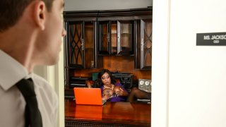 Diamond Is Your Boss - Big Tits At Work