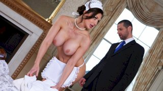 Give the Maid the Tip - Big Tits In Uniform